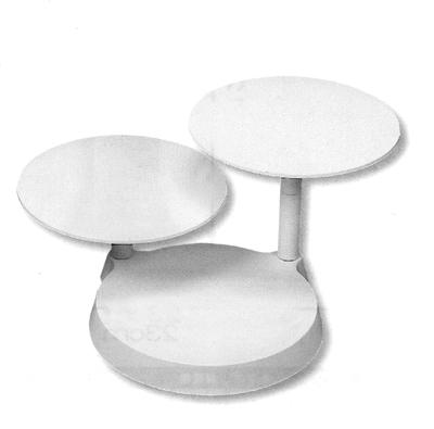 Alzata a 3 piani per torte in plastica smontabile piatti - Piatti plastica ikea ...