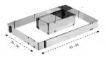 Art.1120 Fascia rettangolare per torte