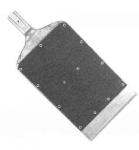 Art.473 Pala a punta in alluminio